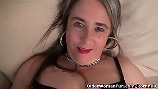 USA gilf Kelli will turn you on with her soft body