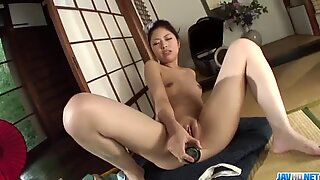 Amateur babe Hana throats cock like a true goddess