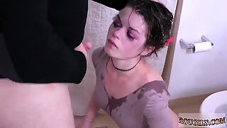 Homemade blindfolded fucks pal Punish my 19 year-old caboose and mouth