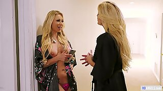 Two Blonde Sex Goddesses can Finally go at Each Other!