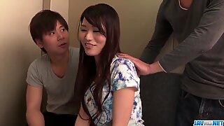 Nana Nakamura Gets A Bunch Of Dicks To Satisfy Her Needs