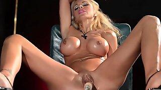 Gorgeous Nina Elle lubed up for good masturbation - Nina Young