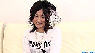 Steamy porn show along superb Megumi Haruka