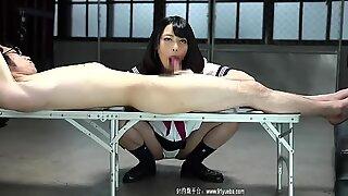 Sucking babe