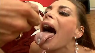 Cum lover Cheyenne Hunter pounded with cock deep and nasty in tight box